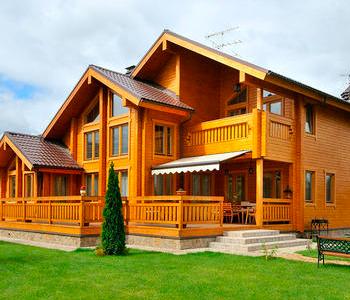 Ahşap Villa, Ağaç Villa - Kütük Villa