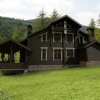 Ahşap Villa, Ağaç Villa, Kütük Villa