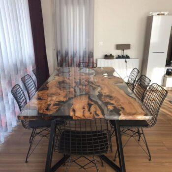 Epoksi Masa, Ahşap Masa, Kütük Masa, Ağaç Masa, Tahta Masa, Modelleri - Fiyatları